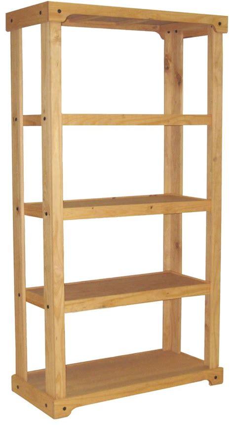 wood shelving unit open backdrop