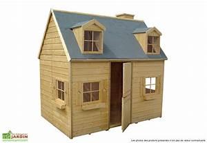 Maison Pour Enfant En Bois : maison pour enfant bois rosalie cerland ~ Premium-room.com Idées de Décoration