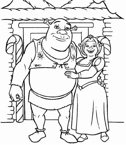 Shrek Coloring Pages Diy Birthday Costume Party