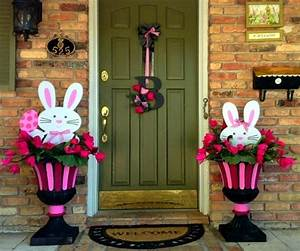 Outdoor Easter decorations – 27 ideas for garden and entry