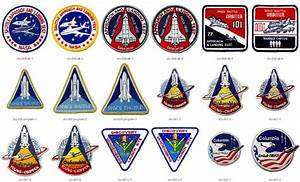 NASA Space Shuttle Mission Patches STS-1 Through STS-117