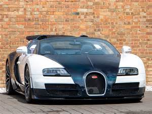 The white bugatti veyron sport convertible is worth $2.5million (£1.6m) while the two standard bugatti veyrons (one in red and black and one in white and silver) cost $1.5million (£970,000) each. 2014 Used Bugatti Veyron 16.4 Grand Sport Vitesse   Carrara White with Blue Carbon