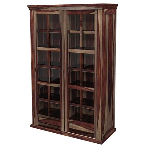 unfinished wood storage cabinets solid wood rustic glass door large storage cabinet