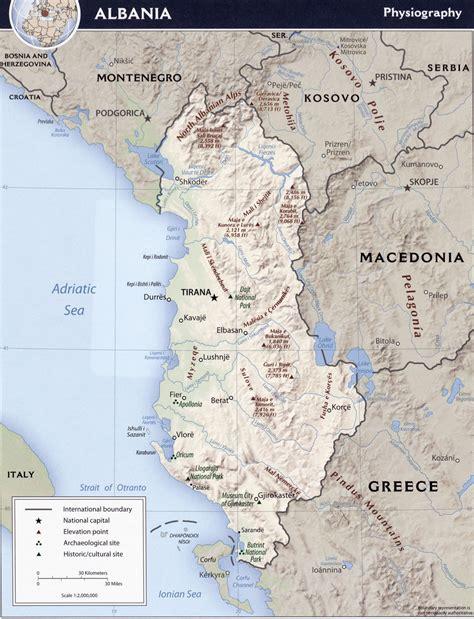 Carte Du Monde Avec L Albanie by Cartes De L Albanie Carte Monde Org
