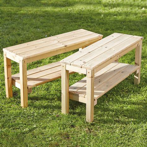 buy small outdoor wooden bench tts