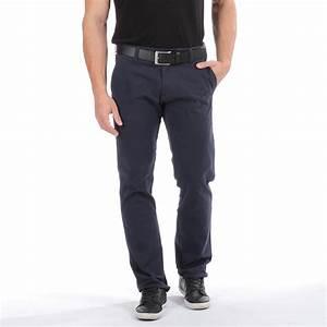 Pantalon Bleu Marine Homme : pantalon chino bleu marine jeans et pantalons bas ~ Melissatoandfro.com Idées de Décoration