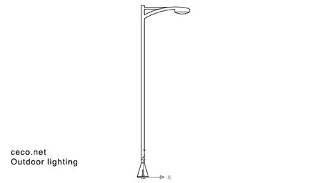 Autocad Drawing Lamppost, Streetlight Dwg Black And White Buffalo Check Kitchen Curtains The Right Way To Hang Curtain Rods Vivan Beige J Queen New York Citron Shower Extendable Tension Pole Argos Style Of For Living Room How Put Up A Valance Over Dunelm Nova Pencil Pleat