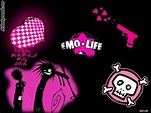 Emo Is Life Backgrounds - Twitter & Myspace Backgrounds