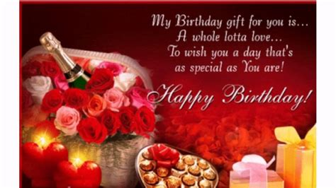 sweet birthday wishes   special youtube
