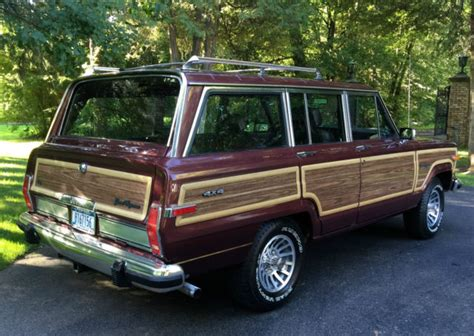 classic jeep wagoneer for sale 1988 jeep grand wagoneer grand wagoneer by classic gentleman