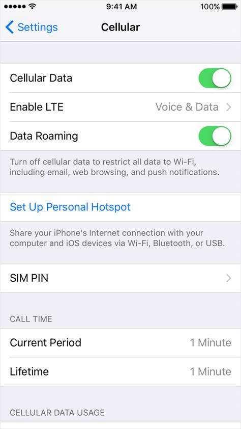 cellular data iphone about cellular data settings and usage on your iphone and
