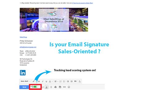 Elements Of A Great Salesoriented Email Signature