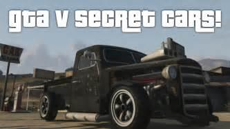 gta 5 secret cars gta v youtube - Gta V Secret Cars
