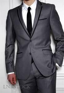 costume gris car interior design - Costume Mariage Noir