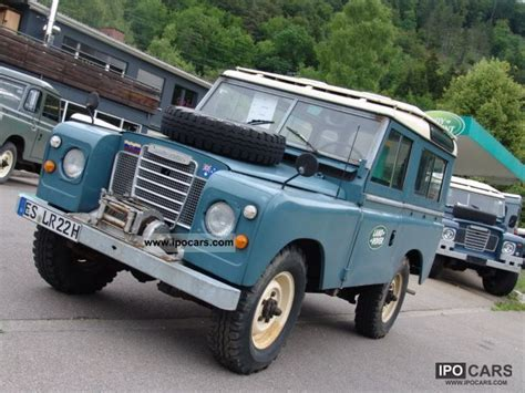 land rover series 3 off road 1972 land rover series iii soft top car photo and specs