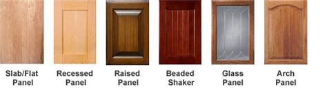 different types of kitchen cabinet doors kitchen cabinet guide home dreamy