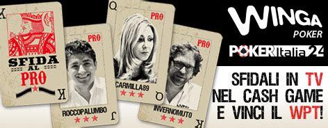 "Arriva ""sfida Al Pro"" Su Winga Tv! Italiapokerclub"