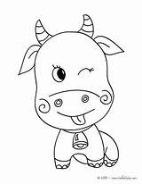 Ox Coloring Coloriage Musk Vache Pages Dessin Nativity Crib Bunyan Paul Dessiner Christmas Getcolorings Colorier Imprimer Printable Yep sketch template