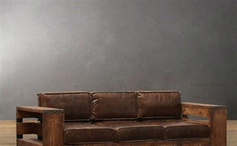 Industrial Style Couch Brilliant Sofa 03 Regarding 16