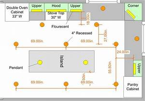 K kitchen remodel lighting plan