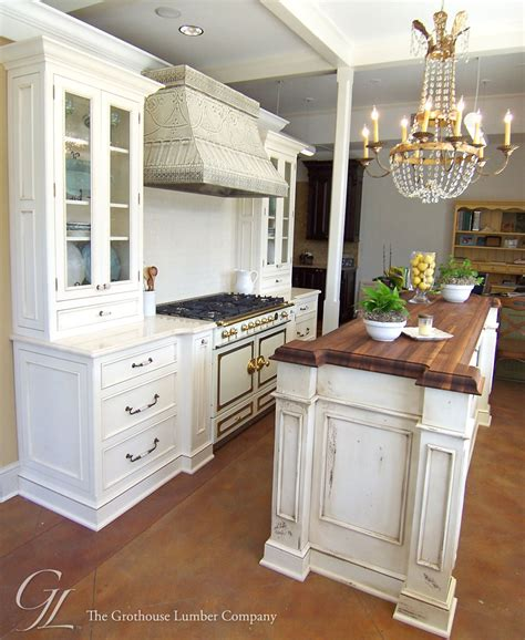 walnut wood countertop kitchen island  orleans louisiana