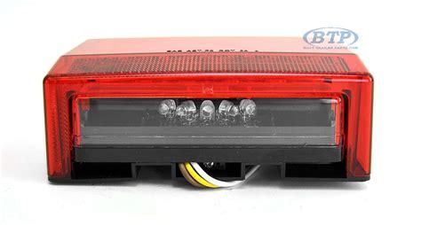 submersible led boat trailer lights submersible led boat trailer light left standard mount