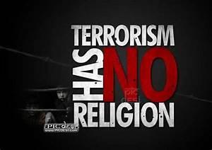 Terrorism has no Religion | PicDesi.com