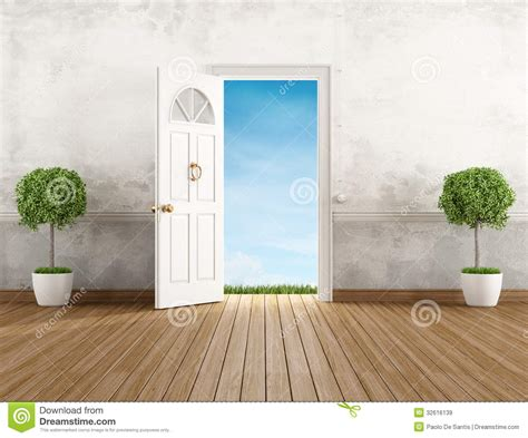 open door homes vintage home entrance royalty free stock images image