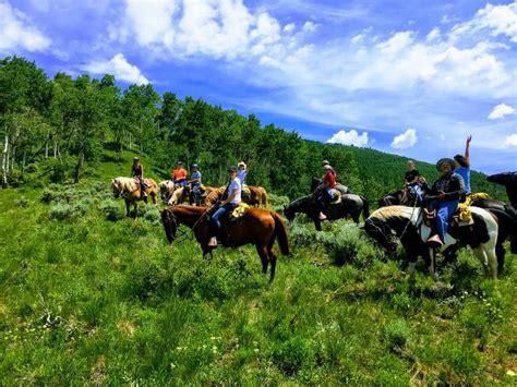 horseback riding vail stables