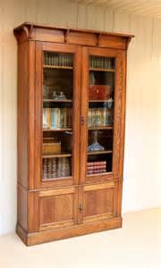Craft Bookcase by Arts And Crafts Oak Bookcase Antiques Atlas