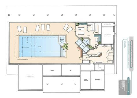 design plan maison avec piscine interieure rouen 36