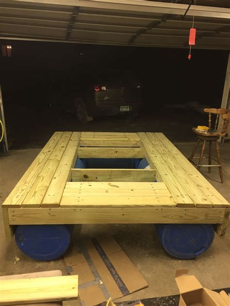 floating picnic table project images  pinterest