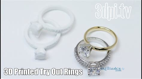 3d printed engagement rings to try out