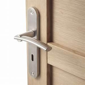 Poignée De Porte Ikea : 2 poign es de porte marion trou de cl inspire acier ~ Dailycaller-alerts.com Idées de Décoration