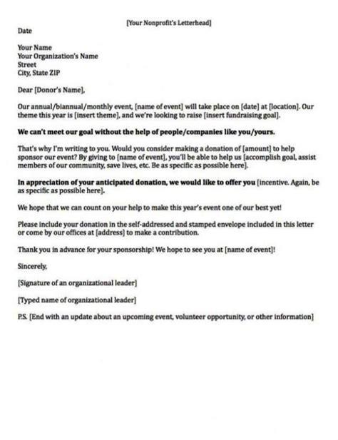 appeal letter  donation sampletemplatess