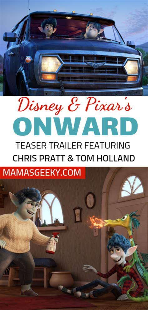 disney pixars onward teaser trailer  chris pratt