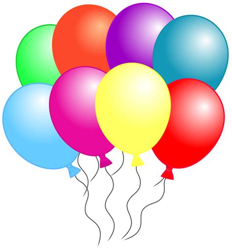 Balloons Clipart Balloon Clipart Six Pencil And In Color Balloon Clipart Six