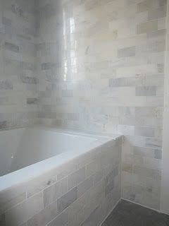 grecian white marble subway tiles from home depot baths