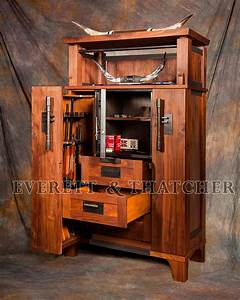 Steel Gun Cabinet - WoodWorking Projects & Plans