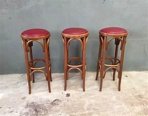 Tabouret De Bar Vintage : ensemble de 3 tabourets de bar ~ Teatrodelosmanantiales.com Idées de Décoration