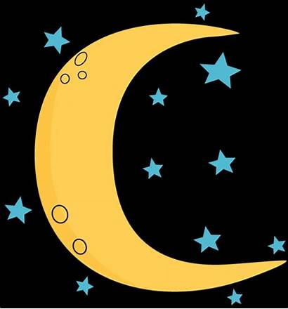 Moon Stars Clipart Clip Crescent Clipartmag