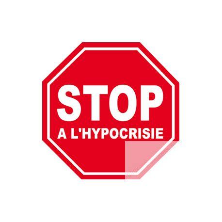 öl verlust stop autocollant stop a l hypocrisie