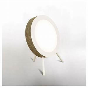 Lampe De Sol : movie lampe de sol ronde leds co design staygreen ~ Dode.kayakingforconservation.com Idées de Décoration