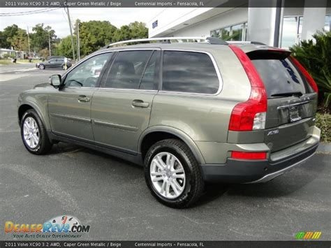 volvo xc  awd caper green metallic beige photo