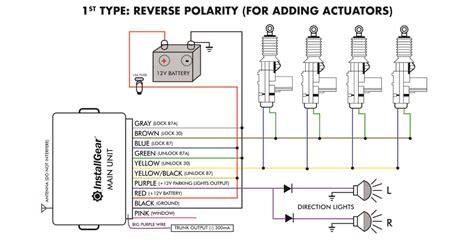 Der Actuator Wiring Diagram by Installgear Keyless Entry System Trunk Pop
