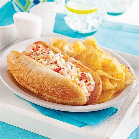 cuisine nordique recettes guedilles au crabe et crevettes nordiques recettes