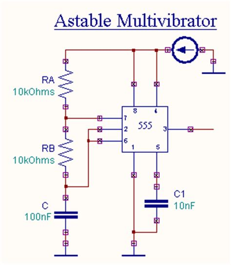 Astable Multivibrator Using