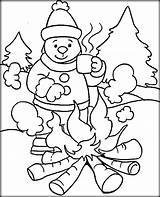 Coloring Winter Pages Weather Kindergarten Cold Drawing Printable Print Sheets Getcolorings Sheet Pag Getdrawings sketch template