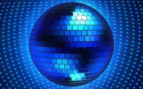 blue disco ball  graphics hd wallpaper