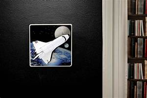 Space Shuttle Light Switch or Dimmer Switch Perfect for a ...